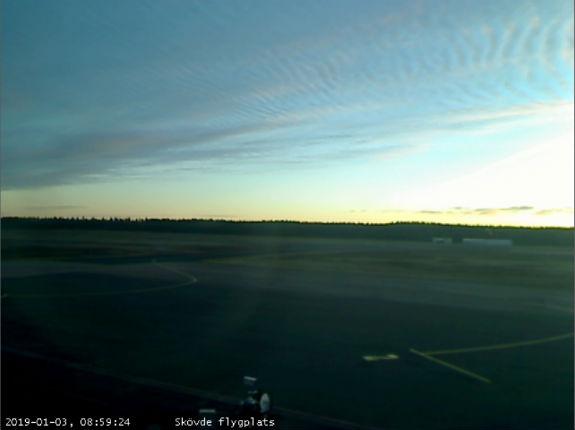 webbkamera skövde flygplats