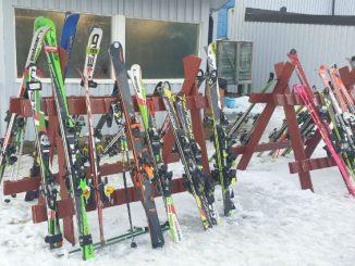 Storslalom och slalom i Billingebacken