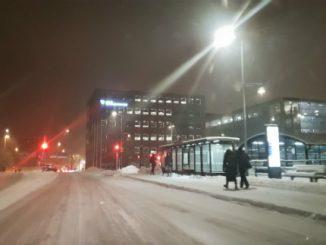 Snöröjning i Skövde kommun
