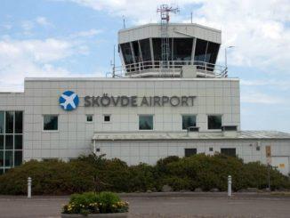 Skövde flygplats airport