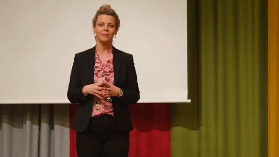 Jonna Nyberg, ordförande i Näringslivsforum