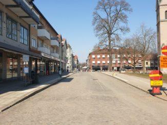 Rådhusgatan i Skövde