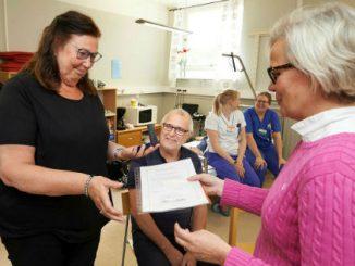 Skaraborgs Sjukhus medaljutdelning