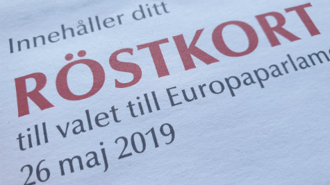 eu-val 2019 skövde