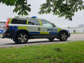 Polisbild i Skövde