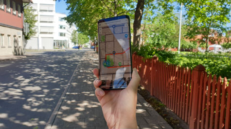 Skövde Streetmuseum-appen