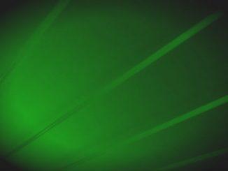 Grön laser