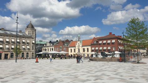Hertig Johans torg i Skövde