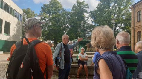 Tritonbrunnen i Skövde