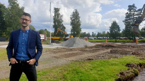 Anders Ståhl, affärsutvecklare Skövde kommun vid Billingen, Skövde