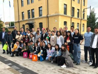 Högskolan i Skövde har haft kinesiska studenter