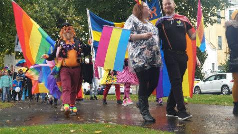 Skövde Pride festival Skövde city news