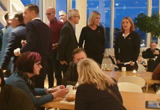 Samhällsbyggnadsfrukost i Skövde stadshus - SKövde city news