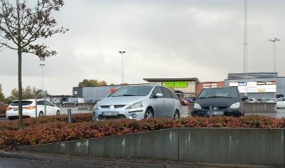 Trafikolycka vid Elins Esplanad i Skövde