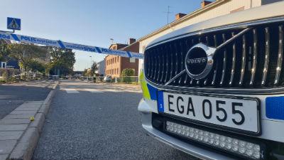 Skottlossning på Norrmalm i centrala Skövde - Skövde city news