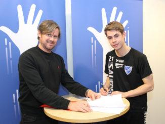 IFK Skövdes Albin Rosén och Ulf Nyström