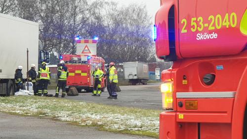 Dieselläckage på Mariesjö i Skövde