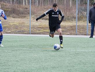 Ahmad Abed Al-Rahman imponerade i IFK Skövdes inledande träningsmatch.