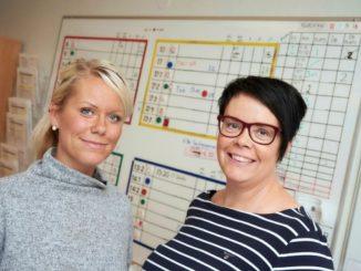 Skaraborgs Sjukhus Skövde - Sjuksköterskan Ulrika Krantz och enhetschef Åsa Lastra