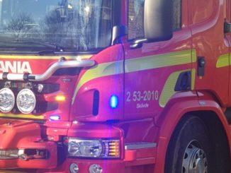 brandbil räddningstjänst östra skaraborg skövde