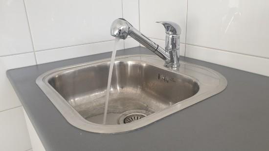 Handfat vatten kran