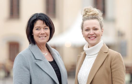 Katarina Jonsson och Maria Leo