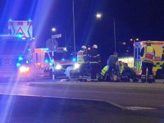 Trafikolycka, Nolhagarondellen i Skövde