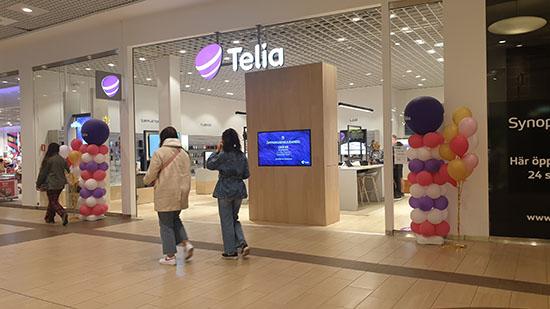 Teliabutiken i Elins Esplanad, Skövde.