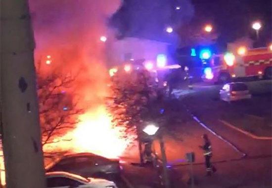 Bilbrand, Södra Ryd i Skövde